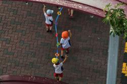 Singapore pre-schools tighten Covid-19 measures