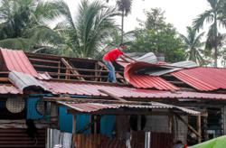 Thunderstorm destroys over 40 houses in Pasir Puteh