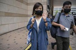 Hong Kong court denies bail to four ex-Apple Daily execs