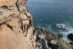 Coastal erosion threatens Senegal's rock climbing clique