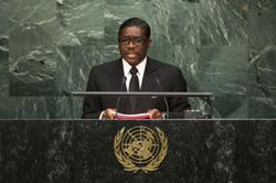 UK sanctions Equatorial Guinea leader's son over