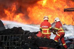 Firefighters climb Bukit Harimau Menangis to extinguish forest fire