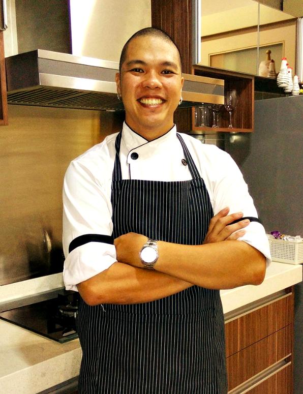 Igor Ang during his private home chef days. Photo: Igor Ang
