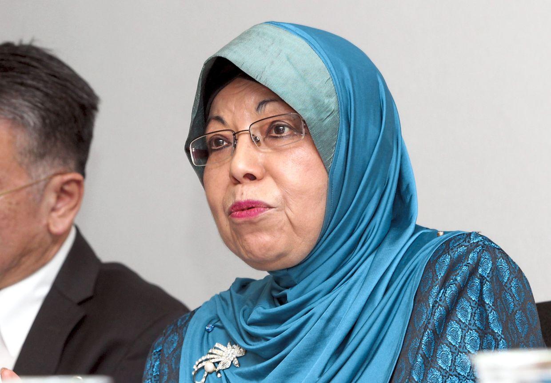MAA president Datuk Aishah Ahmad