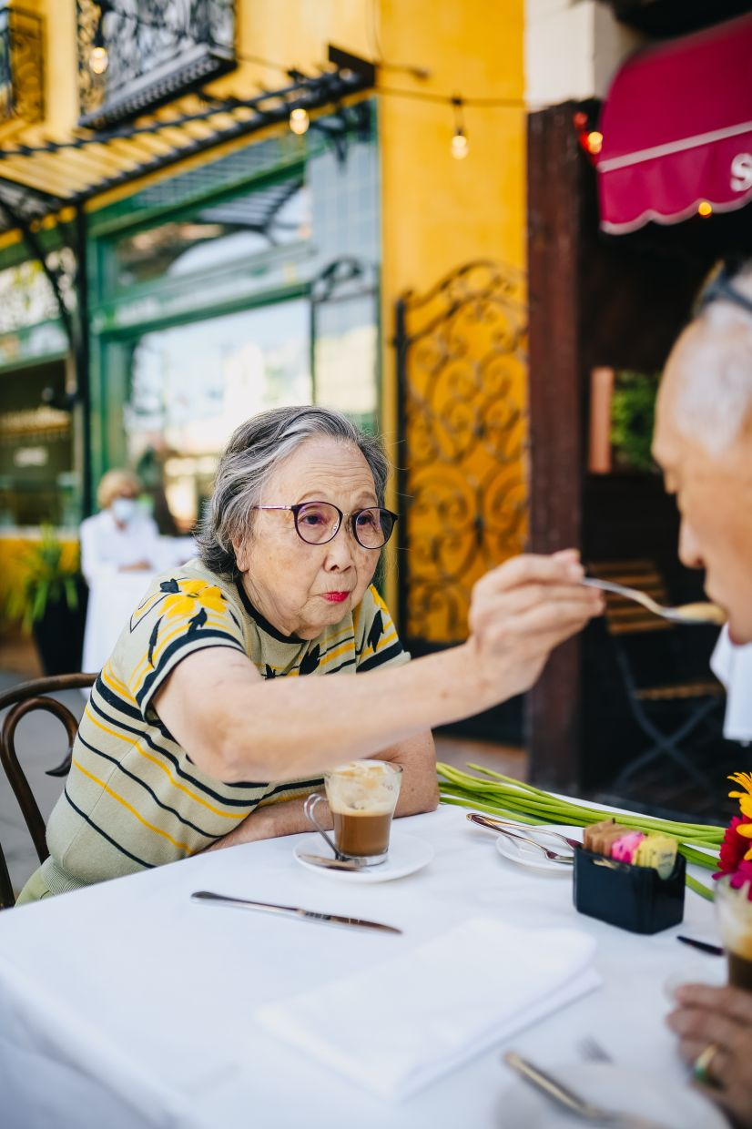 The stomach of an older person cannot accommodate as much food. — RODNAE PRODUCTIONS/Pexels
