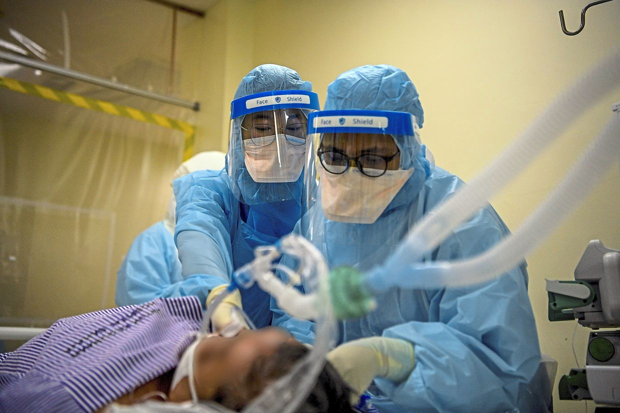 A recent study reveals that patients who received IVM required invasive mechanical ventilation earlier in their treatment for Covid-19. — Bernama