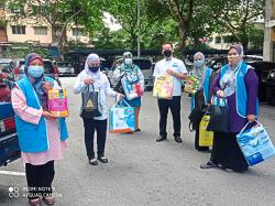 Feminine hygiene items, baby diapers for poor mothers