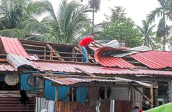 Over 40 houses destroyed in freak storm