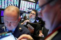 GLOBAL MARKETS-Wall Street closes up after choppy trading due to higher jobless claims