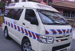Ambulance suspected of gas leakage to cease being used