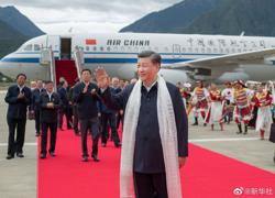 China's Xi makes first official Tibet visit amid border tensions