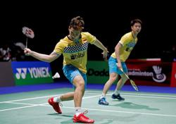 Olympics-Badminton-Indonesia's Gideon and Sukamuljo lead 'group of death'