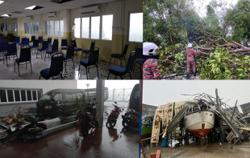 Heavy rain, strong winds damage Tanjung Sedili MMEA office