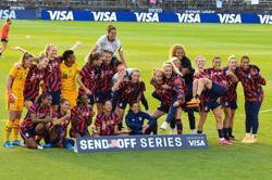 Soccer-U.S. women's team files appeal in gender discrimination lawsuit