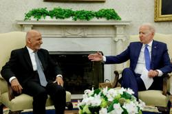 Biden assures Afghan president of continued U.S. support -White House