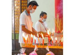 Perpetual Memorial Park holds enlightenment ceremony