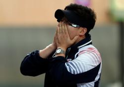 Olympics-Shooting-Korean great Jin eliminated in 10m pistol event