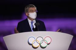 Olympics-IOC's Bach draws ire in Japan over long opening ceremony speech