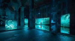 Danish artist transforms infamous Berlin techno club into swampland