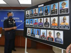 Johor cops seize RM2mil worth of drugs in series of raids