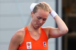 Olympics-Tennis-Kiki Bertens bids farewell to singles career after first-round loss