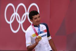 Cycling-Volcano training sends Ecuador's Carapaz on path to gold