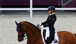 Olympics-Equestrian-Tokyo's Oldest Olympian says ready for Paris 2024