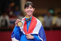 Thailand's Wongpattanakit wins women's 49kg taekwondo gold medal - first Olympic gold for South-East Asia