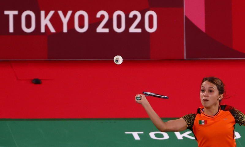 Badminton at Tokyo Olympics. - Reuters