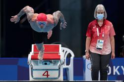 Olympics-Swimming-Powerhouse Peaty shakes off the 'cobwebs' in style