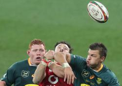 Rugby-Gatland delighted with Lions' appetite for the fight against Springboks