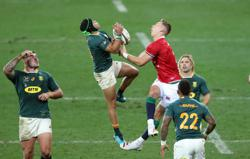 Rugby-Poor discipline cost Boks as coach admits Lions won aerial battle