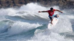Olympics-Surfing-Surfers ride wave of emotion to make Olympic history