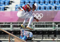 Olympics-Skateboarding-Huston, Horigome advance to finals in skateboarding's debut