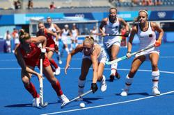 Olympics-Hockey-Britain lose against Germany in women's tournament