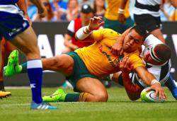 Rugby-Rennie springs surprise with Paia'aua Wallabies selection