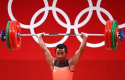 Olympics-Weightlifting-Madagascar's Andriantsitohaina brothers achieve Tokyo dream