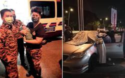 Firefighter helps deliver baby at Kota Anggerik station