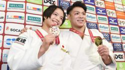 Olympics - A glorious achievement as Japan's judo siblings both win gold at Tokyo 2020