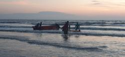 Man drowns trying to recover outboard engine which fell into sea
