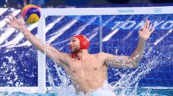 Olympics-Water polo-Spain stun champions Serbia as Croatia, Italy win big