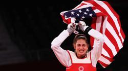 Olympics-Taekwondo-US's Zolotic wins women's -57kg gold medal