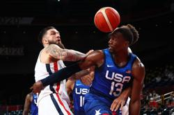 Olympics-Basketball-US men fall to France in first loss since 2004