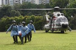 RSAF evacuates two crew members from commercial vessels off Singapore coast