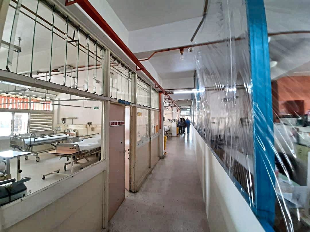 Penang Health Department acted swiftly to convert the hospital after six days of planning and intensive preparation.