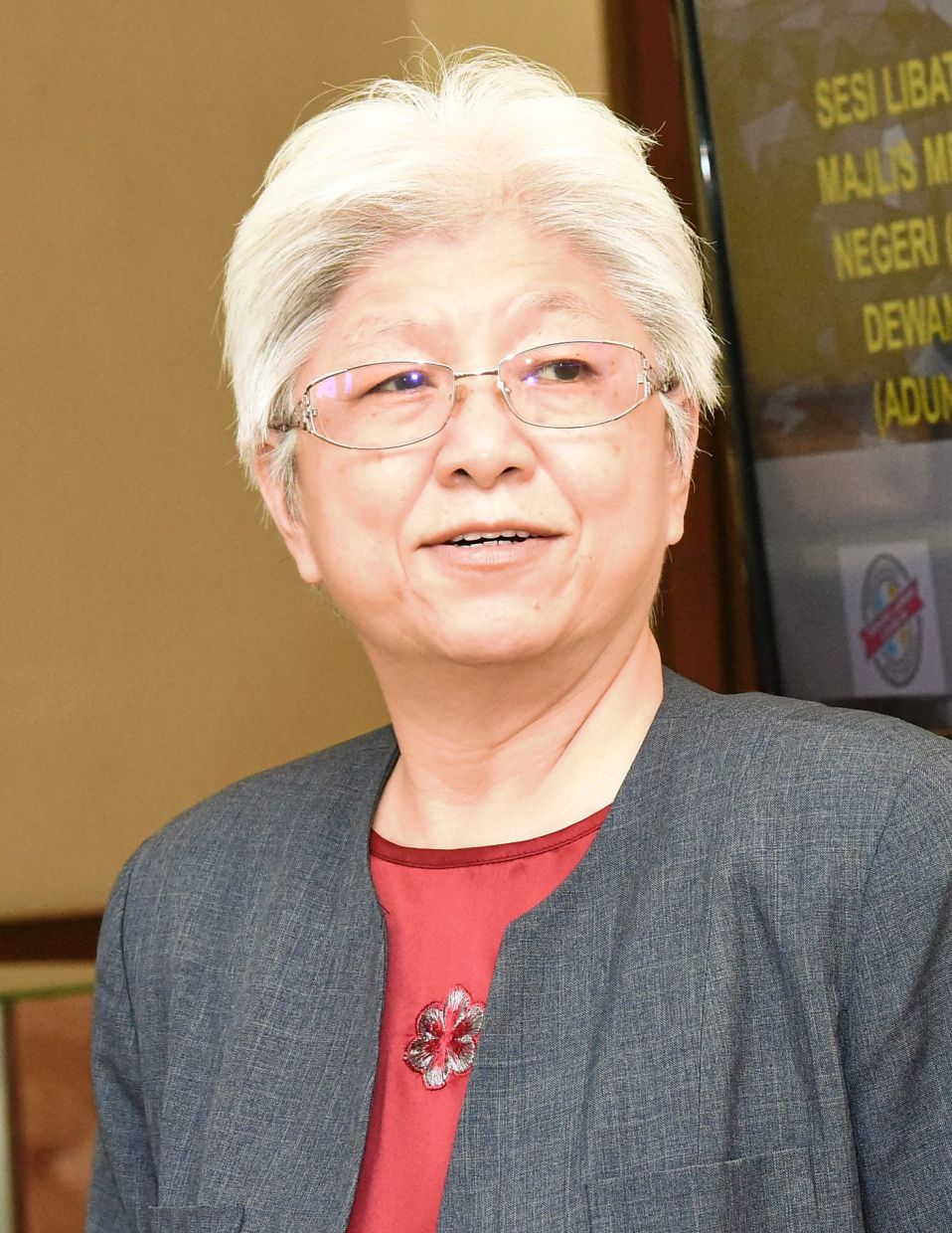 Chong Eng says those with potential will be selected to join a mentoring programme.