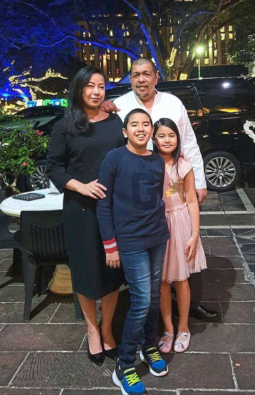 For Dino and his wife Della, their children's dates of birth are a happycoincidence. — Photo courtesy of Dino Bidari
