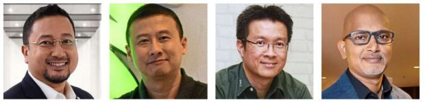Leading the way: Rahim, Lee, Kuan and Dev Raaj will weigh in on the areas for discussion in the panel during the webinar.