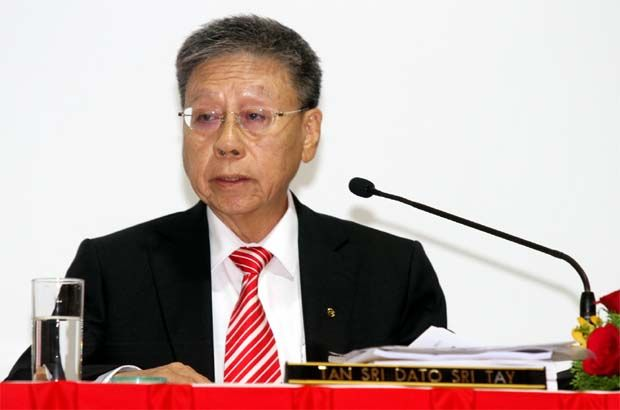 """""""They have all helped to put the whole economy on a better footing during the various stages of the pandemic,'' said Public Bank managing director and chief executive officer Tan Sri Tay Ah Lek"""