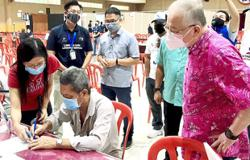 Yong Peng folk happy to be vaccinated